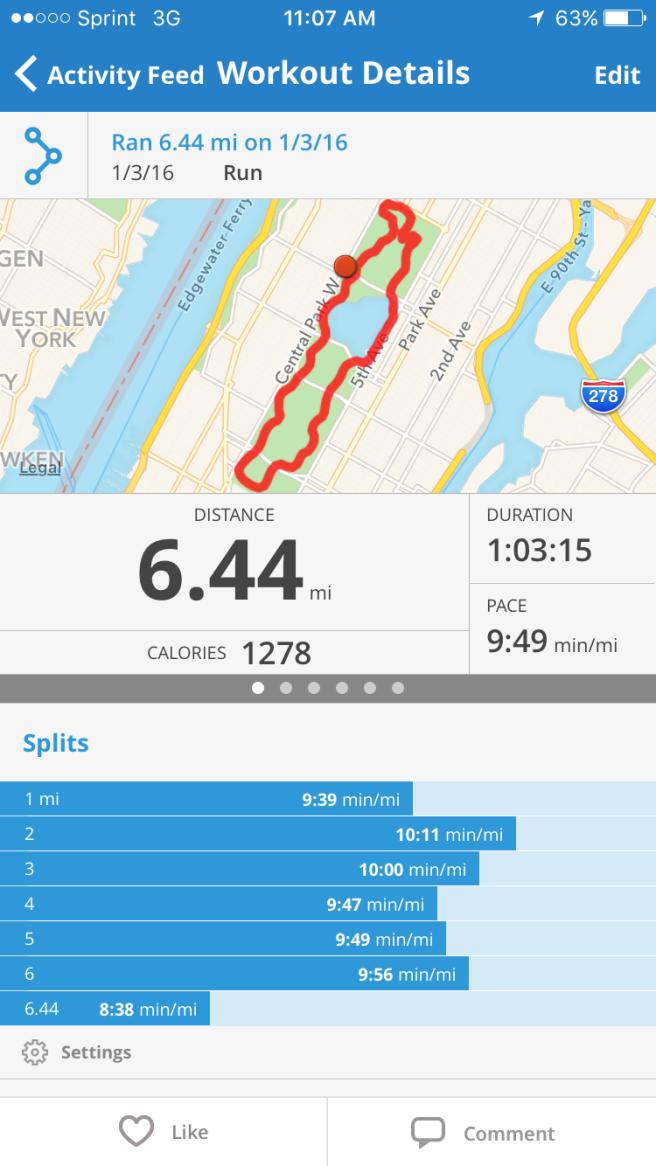 6.4 miles (aka 10K+)